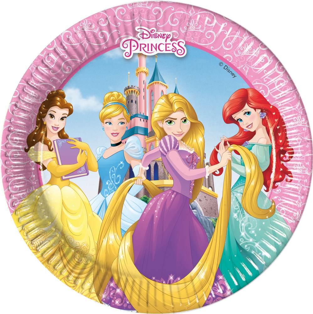Kinder-Geburtstag Party Deko Feier Fete Motto Disney Prinzessin Team ...