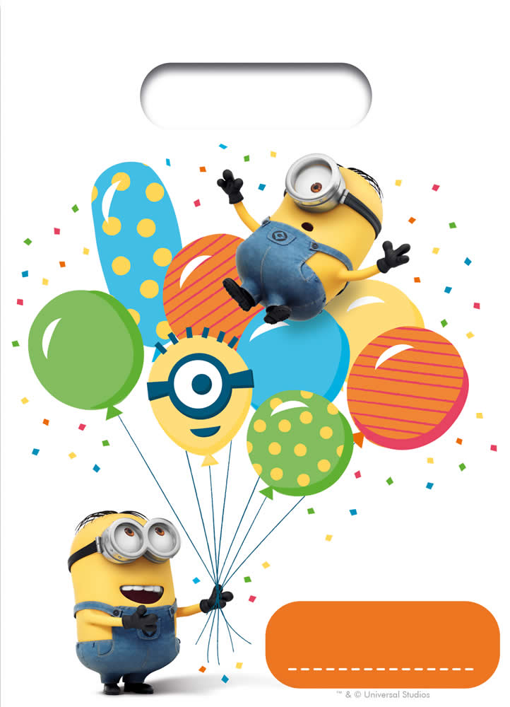 kindergeburtstag geburtstag party fete feier moto minions balloons ebay. Black Bedroom Furniture Sets. Home Design Ideas