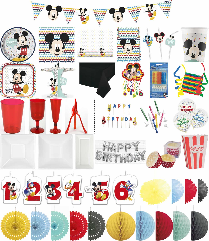 Kinder Geburtstag Premium Party Deko Feier Fete Motto Mickey Mouse