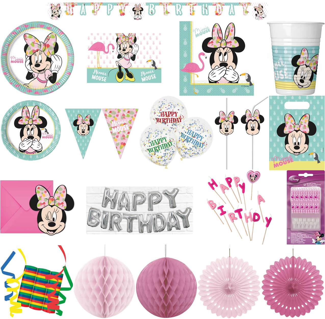 Ausgezeichnet Minnie Maus Geburtstag Farbseiten Fotos - Entry Level ...