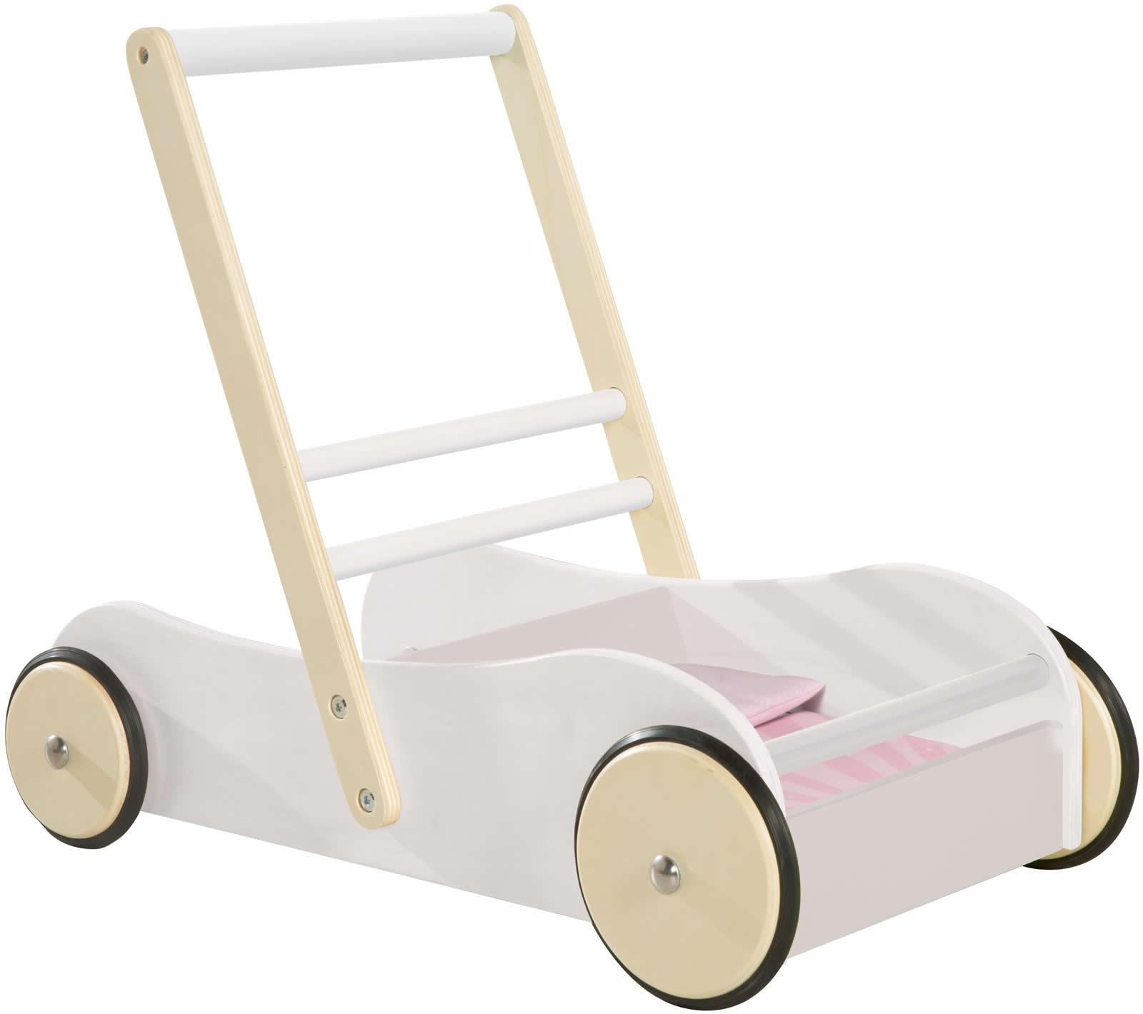 roba Kinder Lauflernwagen Gehhilfe mit Bremse Holz