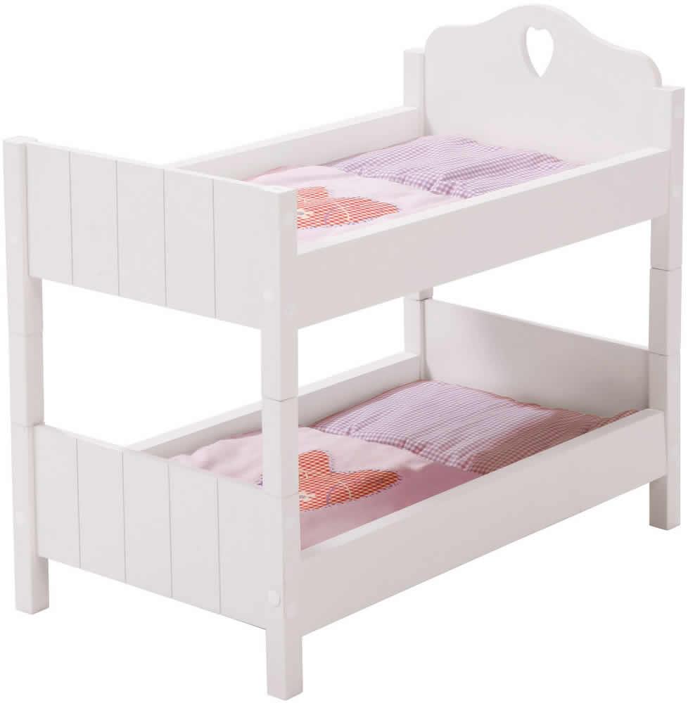roba puppenetagenbett fienchen etagenbett bett puppen holz 4005317257761 ebay. Black Bedroom Furniture Sets. Home Design Ideas