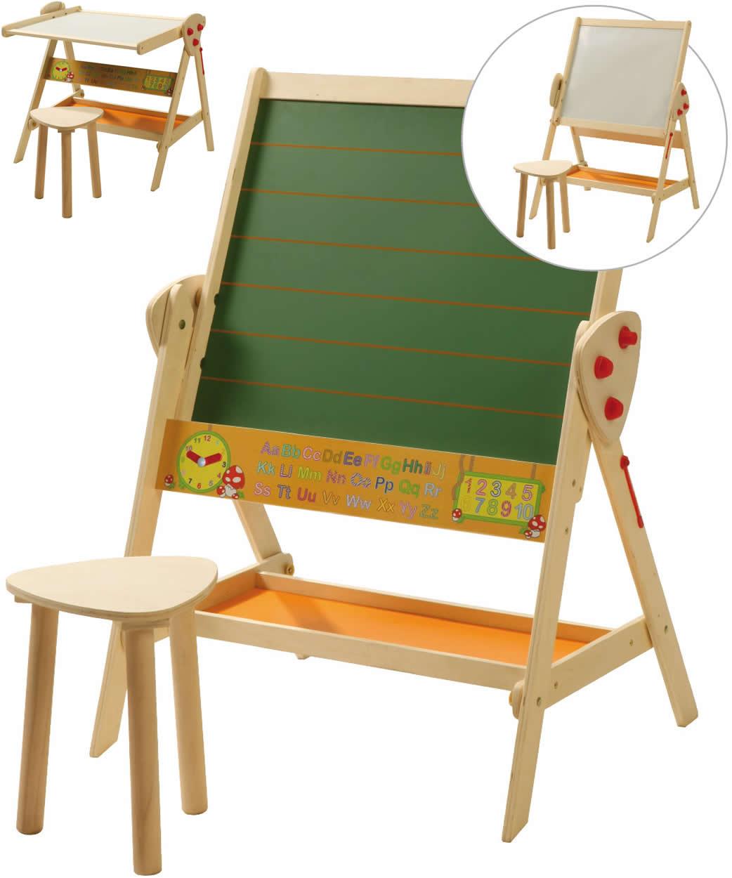 Roba Kinder Standtafel Tafel Kreidetafel Liniert Magnettafel Magnetisch