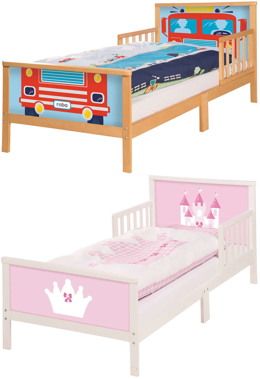 Roba Toddler Bett Kinderbett Juniorbett Rausfallschutz 70x140 Cm