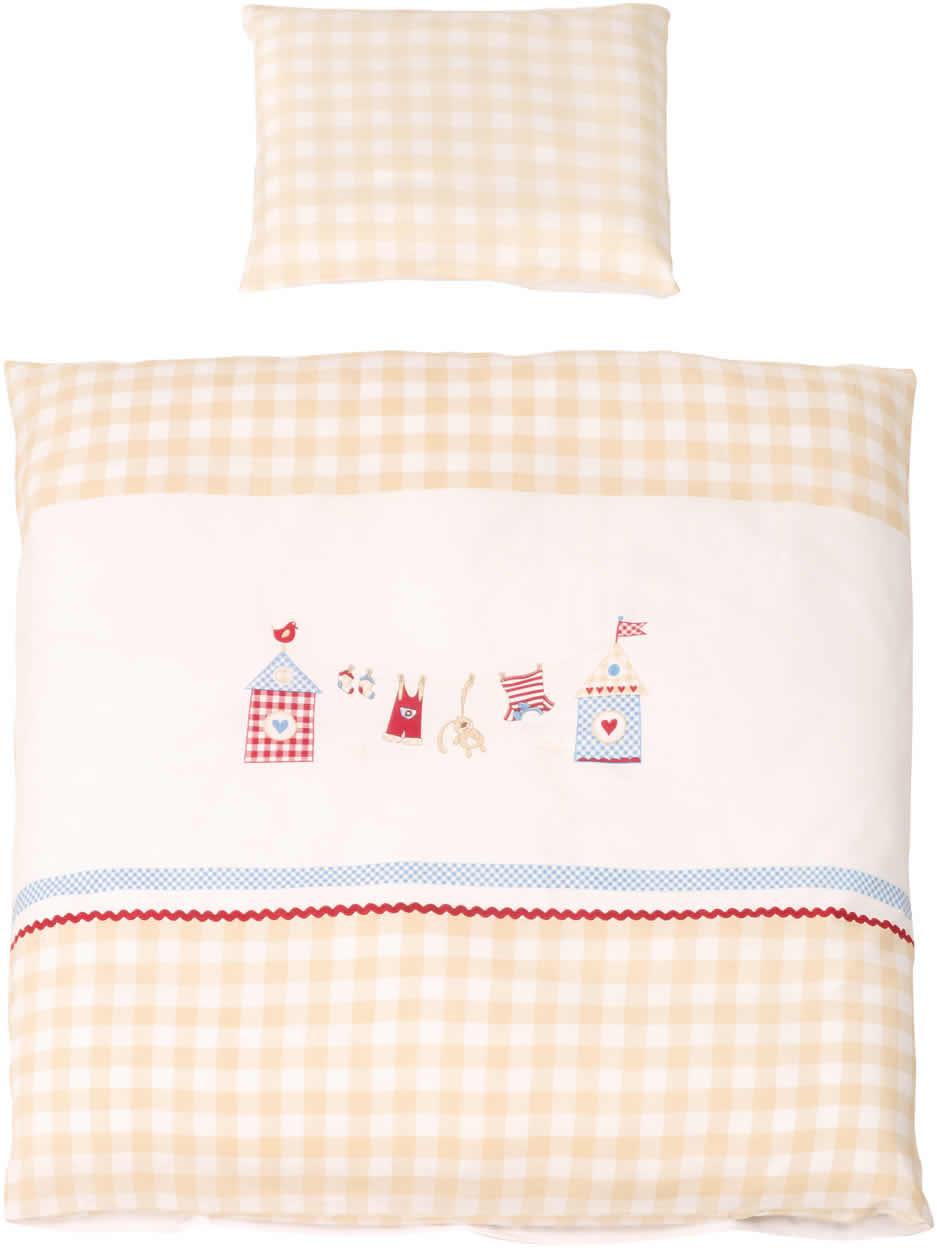 roba baby wiegen kinderwagen wende bettw sche 2 teilig 80x80 cm ebay. Black Bedroom Furniture Sets. Home Design Ideas