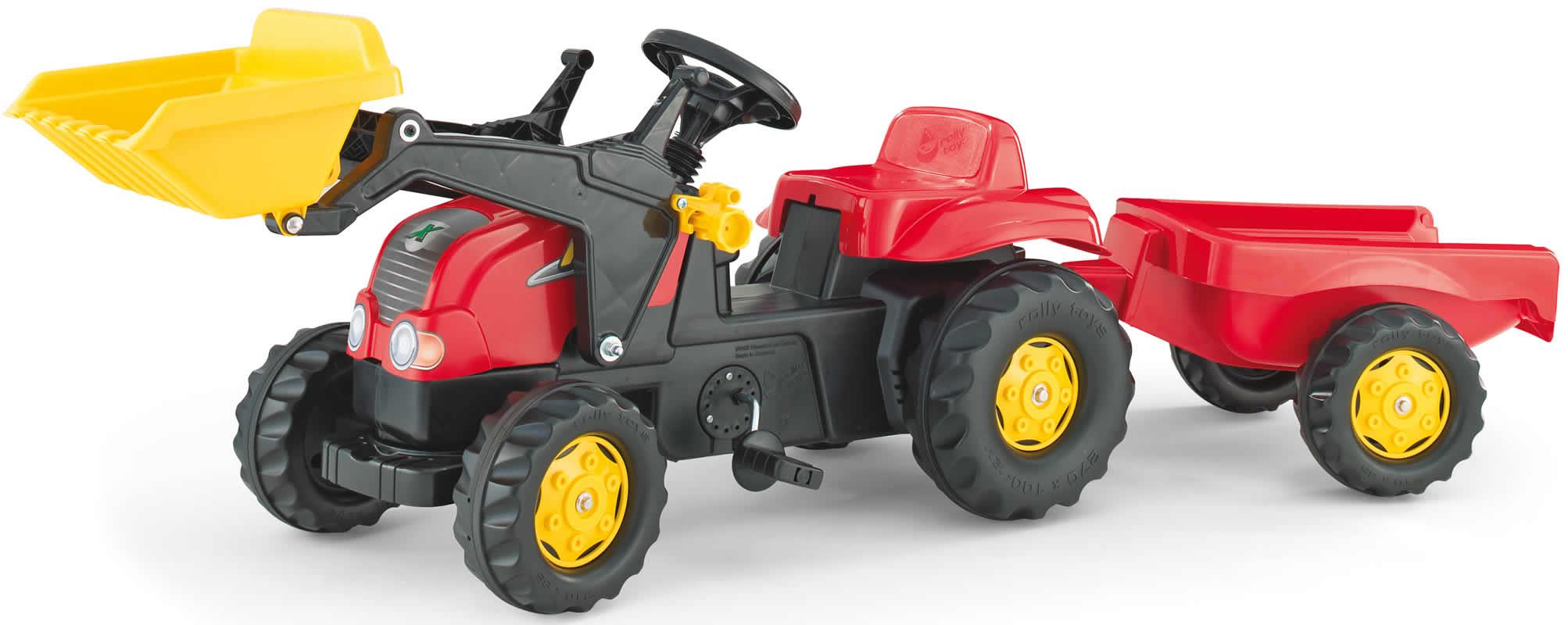 rolly toys Traktor Trettraktor Lader Anhänger John Deere, Deutz-Fahr ...