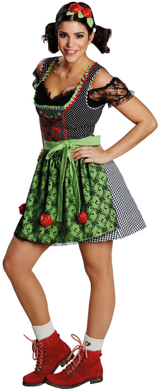 bayrische tracht damen kostüm