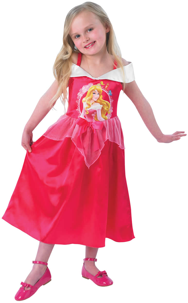 Disney Sleeping Beauty Dornröschen Prinzessin Kinder Karneval Kostüm ...