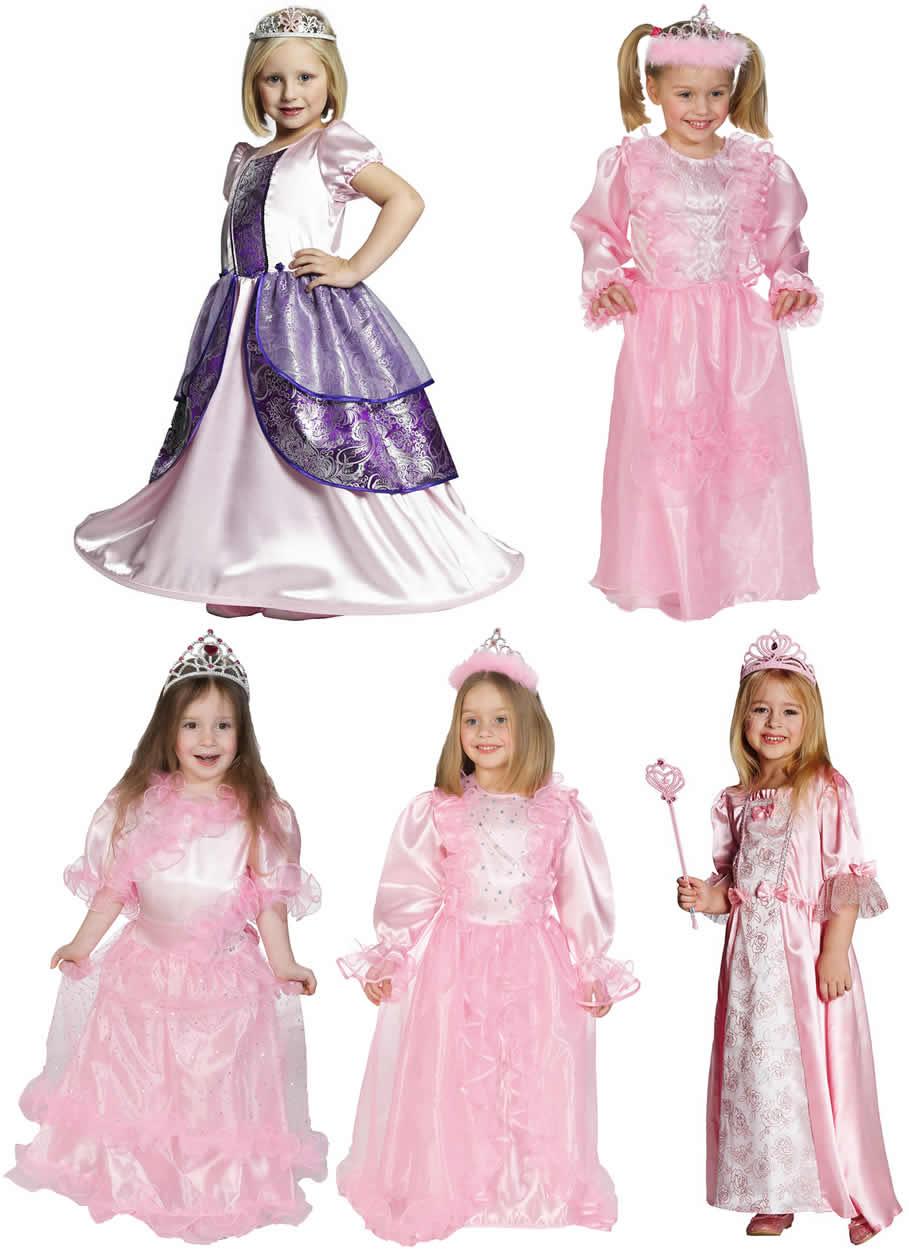 Prinzessin Kinder Karneval Fasching Kostum 104 164 Ebay