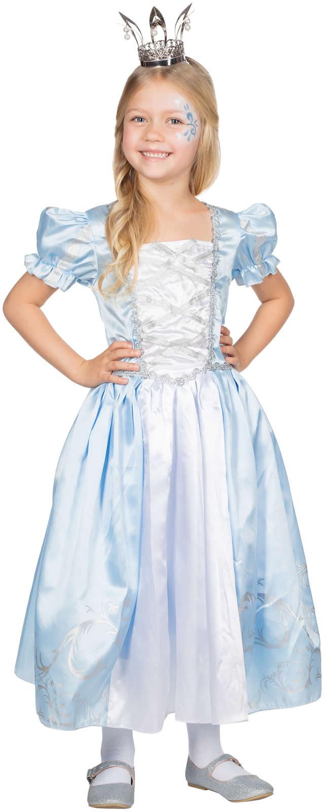 Prinzessin Lilly Kinder Karneval Fasching Kostum 104 128 Ebay