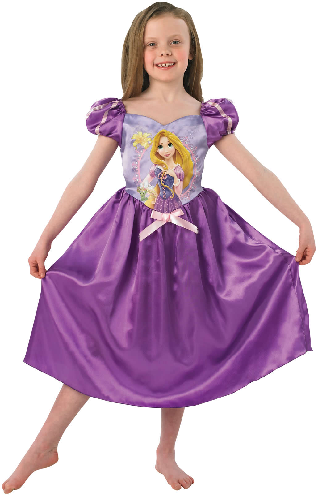 Rapunzel Storytime Prinzessin Kinder Karneval Fasching Kostüm 104 ...