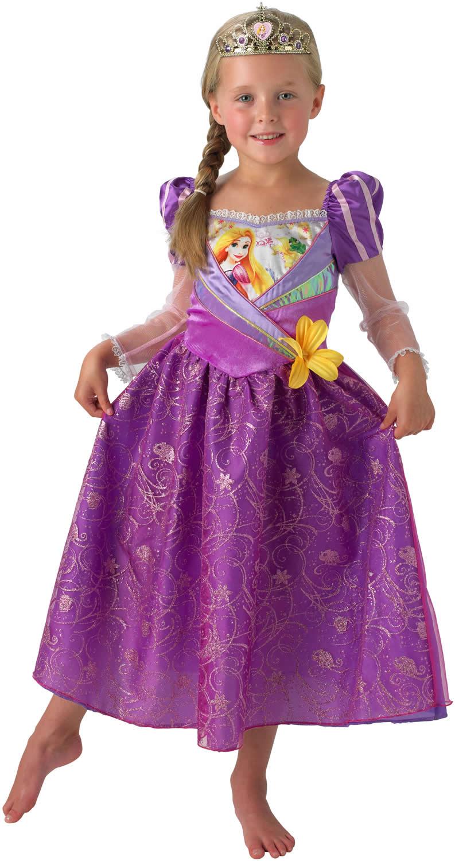 disney rapunzel prinzessin kinder karneval fasching kost m 104 128 ebay. Black Bedroom Furniture Sets. Home Design Ideas