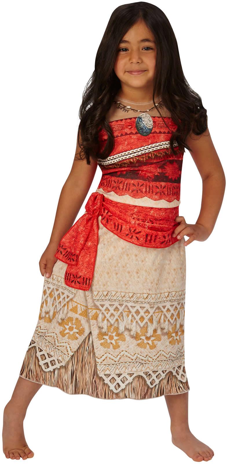 Vaiana Disney Häuptlingstochter Prinzessin Kinder Karneval Kostüm   eBay